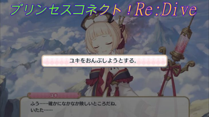 【プリコネR】珍しい?あの騎士君のおんぶを断るユキ☆ CV:大空直美 [Princess Connect!Re:Dive]